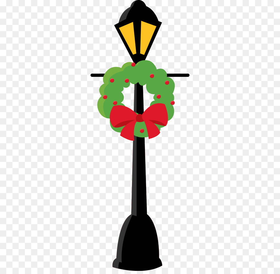 Christmas lamp post clipart clip transparent library Christmas Light Bulb png download - 318*870 - Free Transparent Light ... clip transparent library