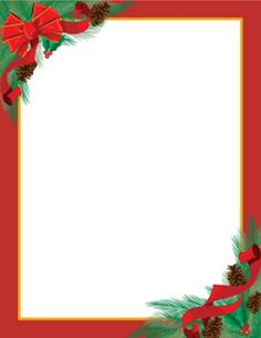 Christmas letterhead free clipart picture freeuse 15 Best Christmas Letterhead images in 2012 | Christmas letterhead ... picture freeuse