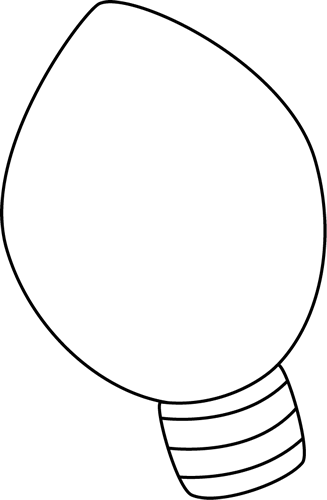 Christmas light bulb black and white clipart banner library library 78+ Christmas Light Bulb Clip Art | ClipartLook banner library library
