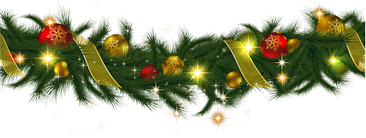 Christmas light garland clipart svg transparent stock Christmas Garland Border Clip Art Free – Merry Christmas And Happy ... svg transparent stock