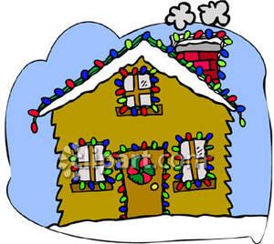 Christmas light house clipart clip art library stock Christmas Lights House Clipart clip art library stock