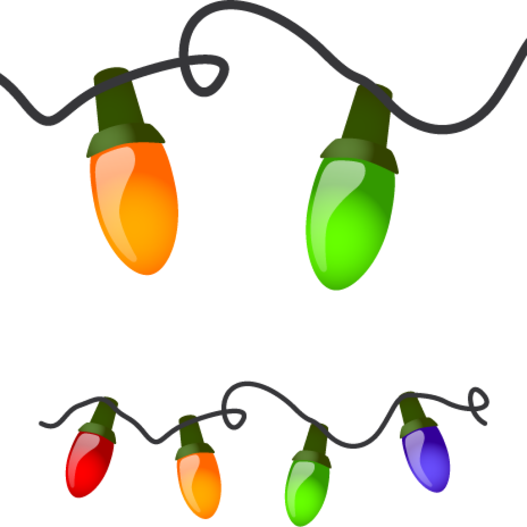 Christmas lights clipart black and white svg library stock Christmas Lighting Clip Art - Vector And Clip Art Inspiration • svg library stock