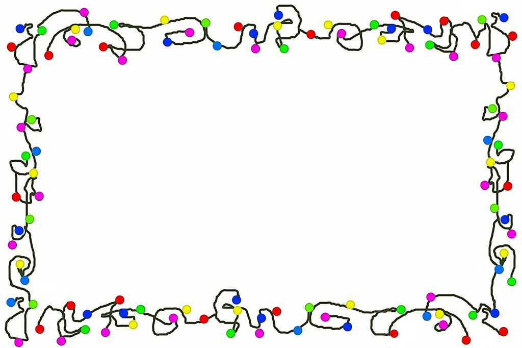 Holiday light border clipart image royalty free Free Christmas Lights Border, Download Free Clip Art, Free Clip Art ... image royalty free
