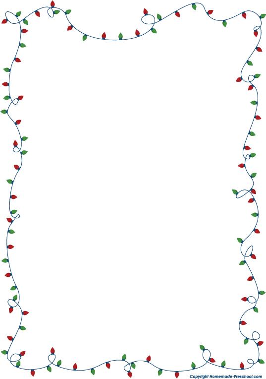 Christmas lights border clipart black and white clip art free stock Fun and free Christmas lights clipart, ready for PERSONAL and ... clip art free stock