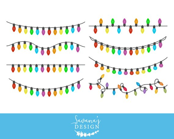 Christmas lights string clipart image free stock Christmas lights clipart, Christmas lights clip art, String of ... image free stock