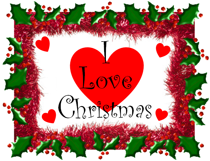 Christmas love clipart picture free library Fussy and Fancy Friday Challenge: Challenge 77 - I Love Christmas picture free library