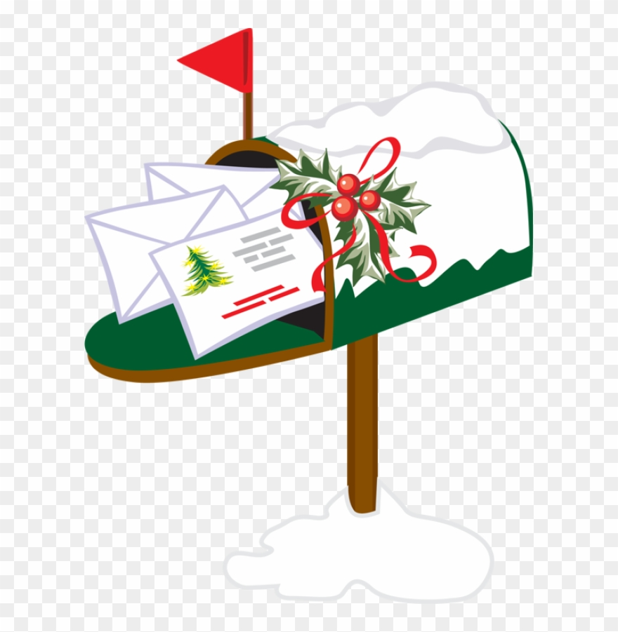 Christmas mail box clipart transparent stock Mailbox Clipart Holiday - Christmas Mailbox Clipart - Png Download ... transparent stock
