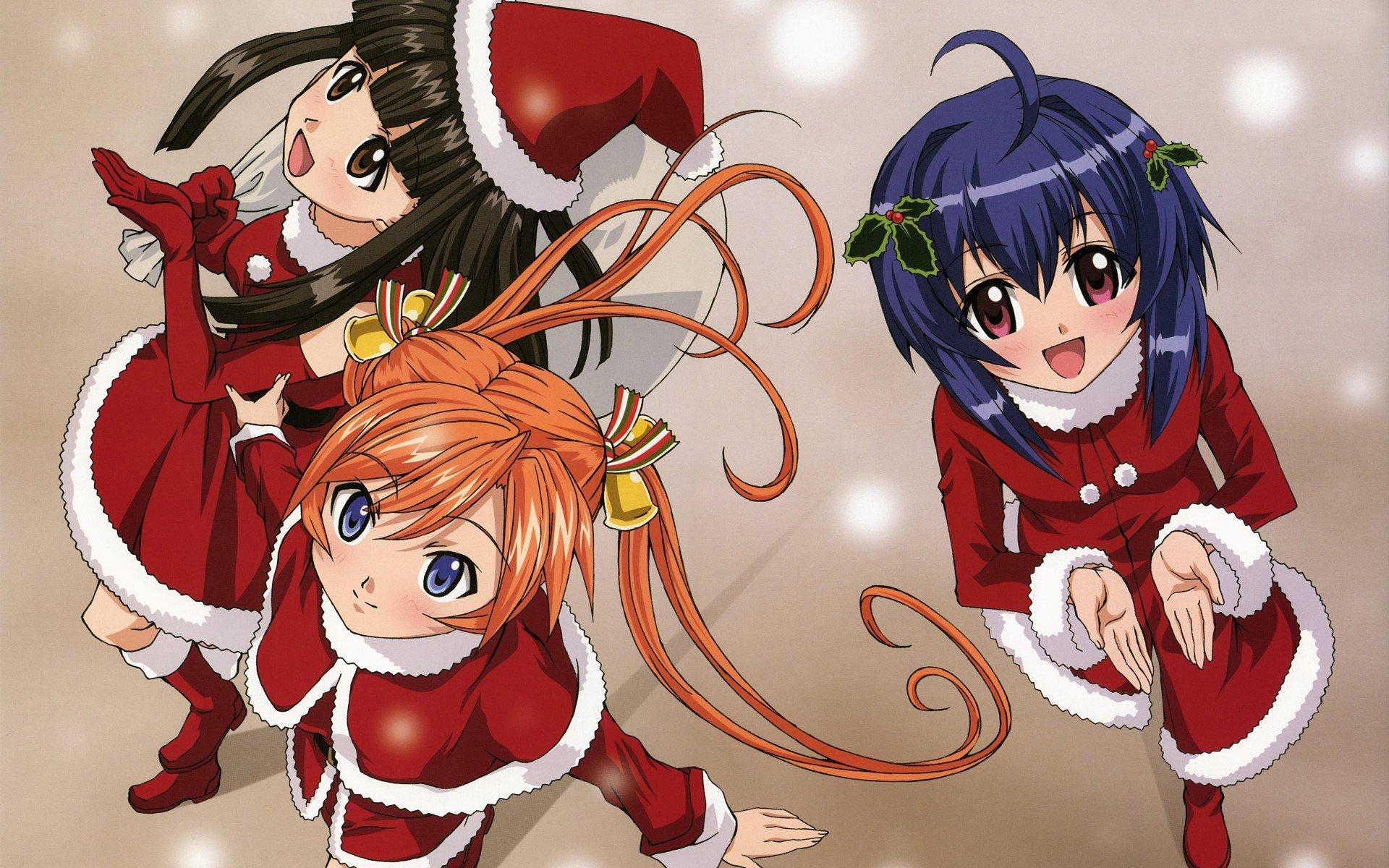 Anime wallpaper jpg mix. Christmas manga clipart