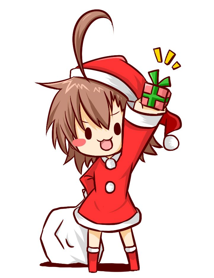 Christmas manga clipart.  images about anime