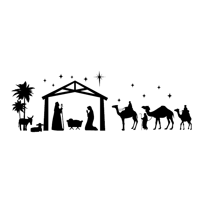 Christmas nativity scene clipart graphic library download Layer Comps | Alex Hudson graphic library download