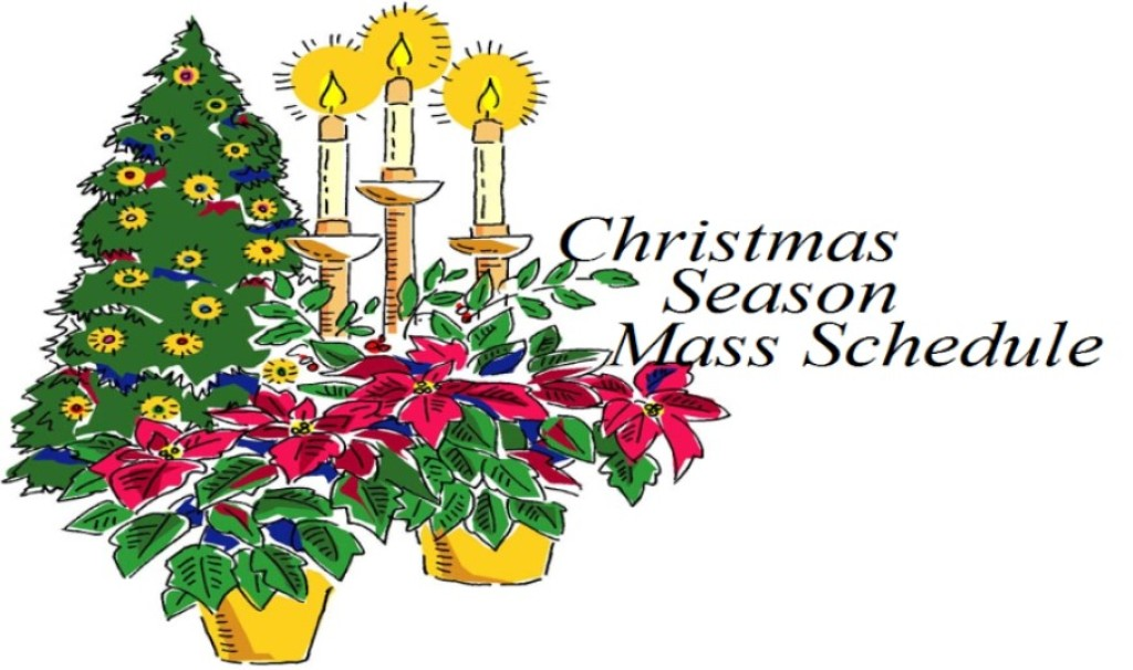 Christmas mass schedule clipart jpg royalty free download Roman Catholic Diocese of Bridgetown Holiday Mass Schedule - Blog jpg royalty free download