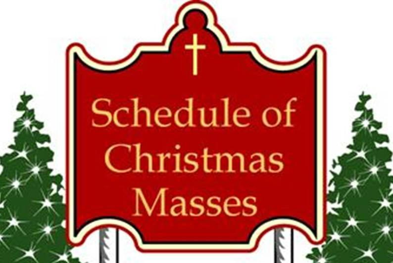 Christmas mass schedule clipart clipart black and white Christmas & New Year\'s Mass Schedule | St. Francis Xavier clipart black and white