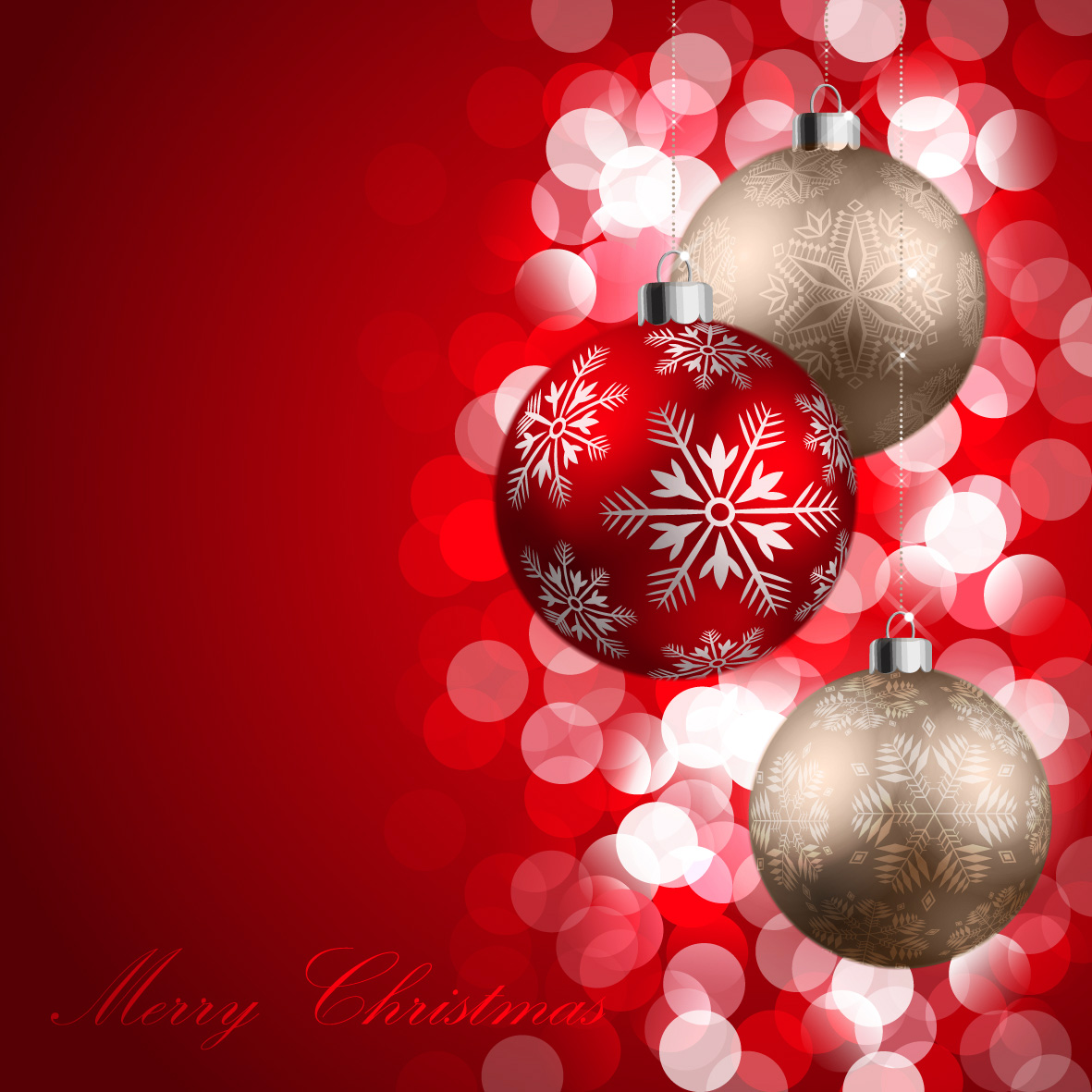 Christmas merry red background clipart png transparent Merry Christmas Red Background with Ornaments | Gallery ... png transparent