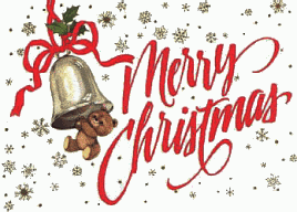 Christmas message clipart