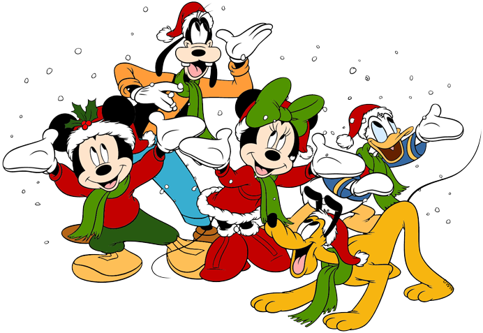 Christmas mickey mouse clipart png library stock Mickey Mouse Christmas Clip Art | Disney Clip Art Galore png library stock