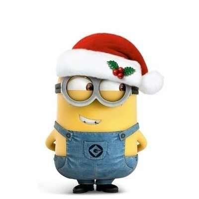 Christmas minion clipart picture black and white Free Funny Minion Cliparts, Download Free Clip Art, Free Clip Art on ... picture black and white