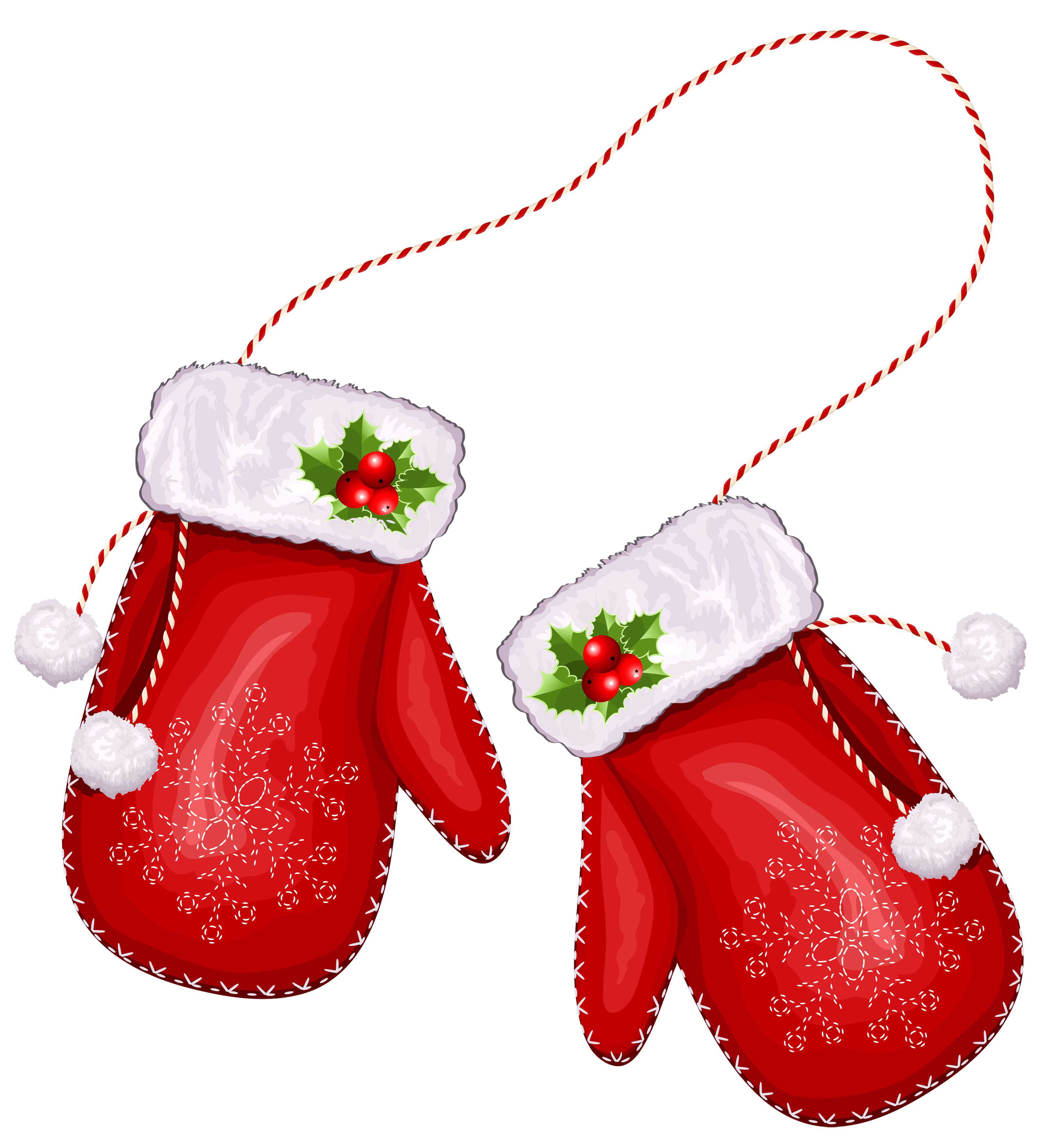 Christmas mittens clipart graphic free download 28+ Collection of Santa Gloves Clipart | High quality, free cliparts ... graphic free download