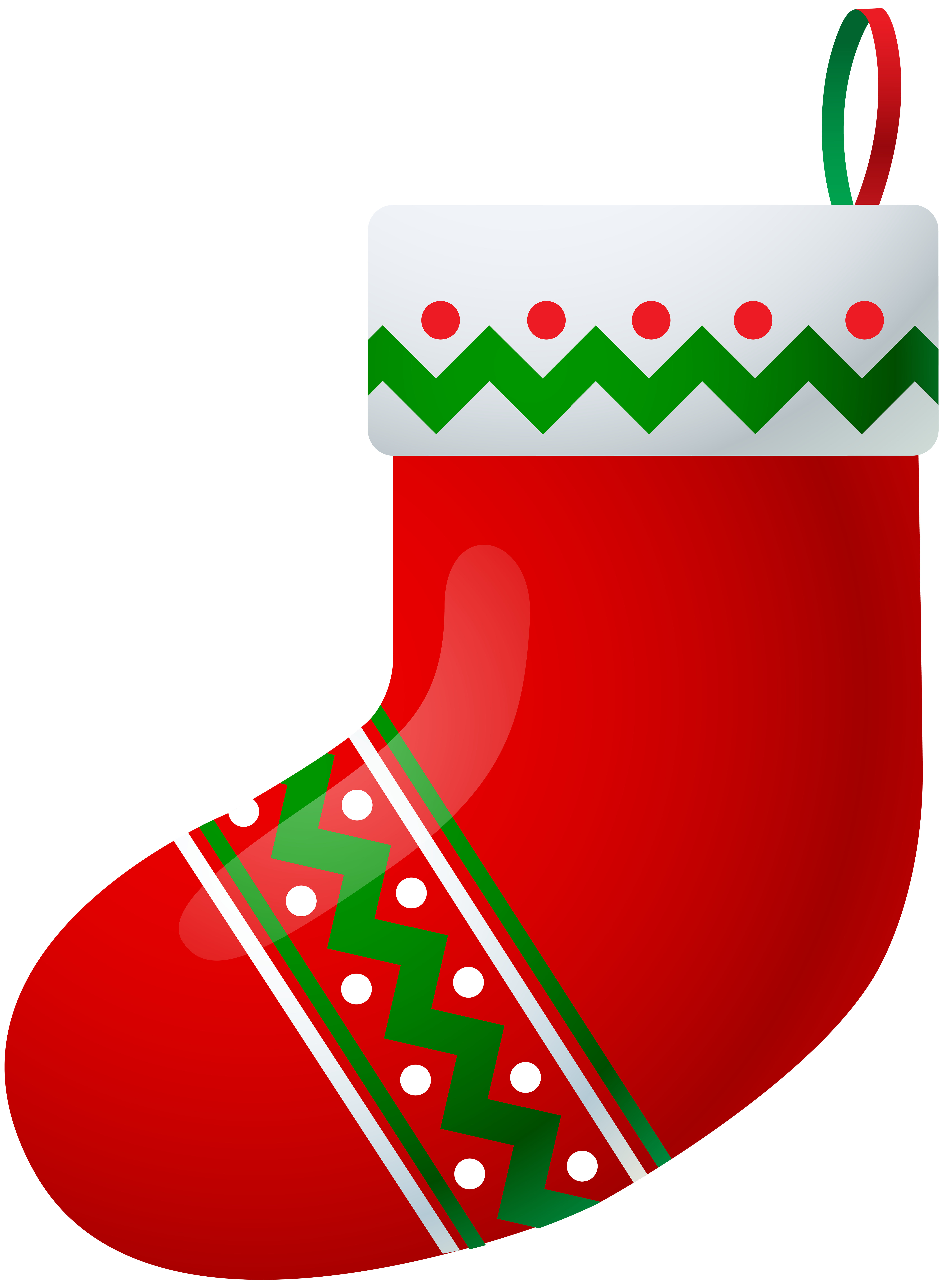 Christmas money clipart picture black and white Christmas Stocking PNG Clip Art Image | Gallery Yopriceville - High ... picture black and white