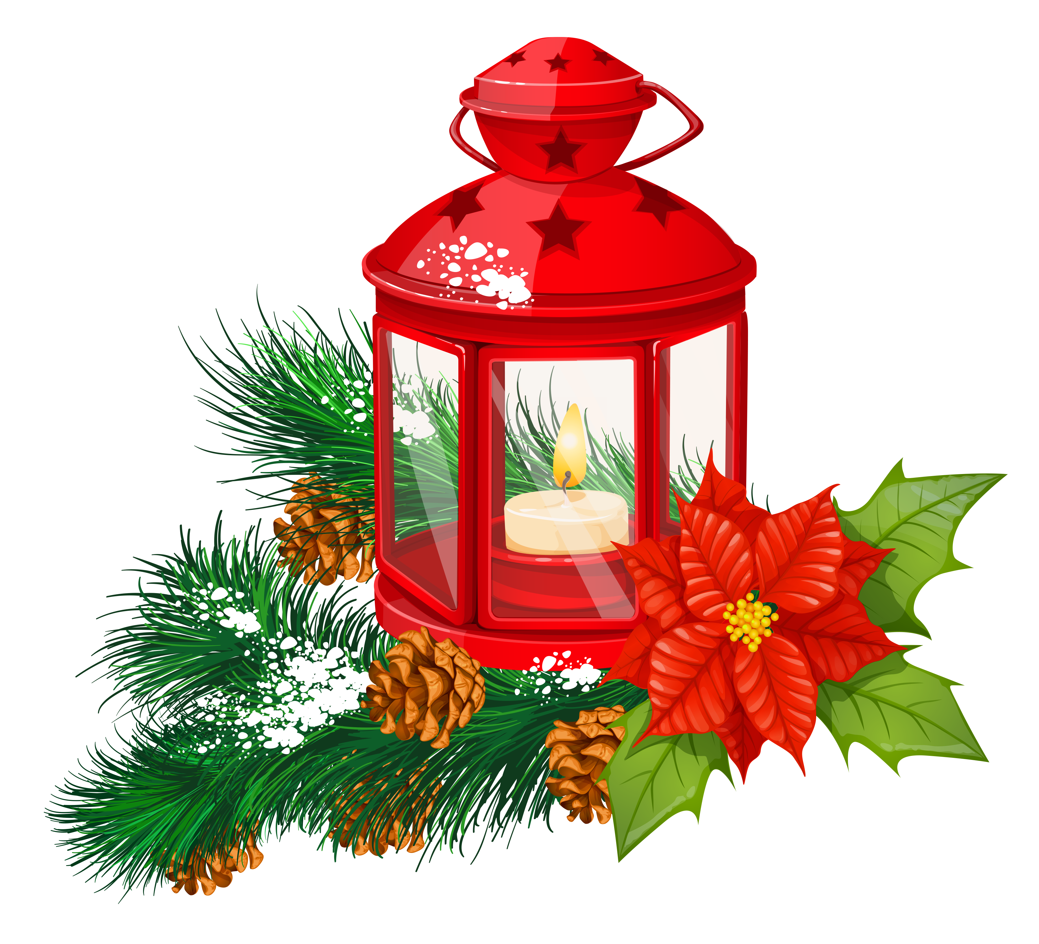 Christmas truck clipart banner stock Red Christmas Lantern Transparent PNG Clipart | Gallery ... banner stock