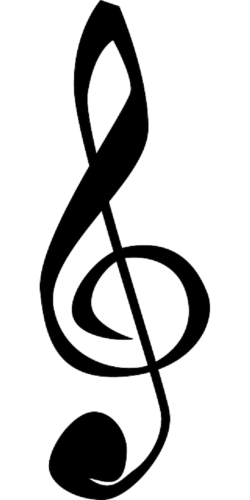 Christmas music clipart black and white library Music Notes Pictures | Free download best Music Notes Pictures on ... library