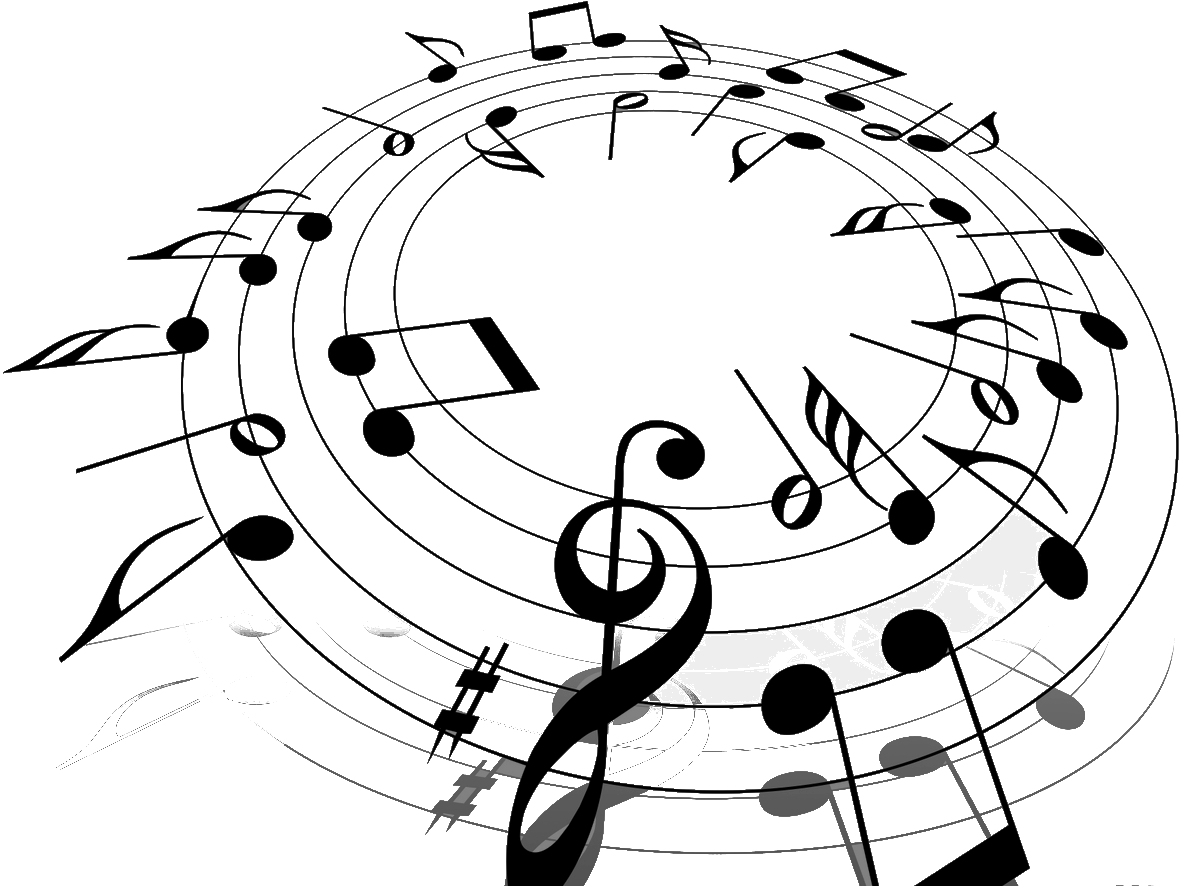Christmas music clipart black and white clip free Free Free Music Notes Clipart, Download Free Clip Art, Free Clip Art ... clip free