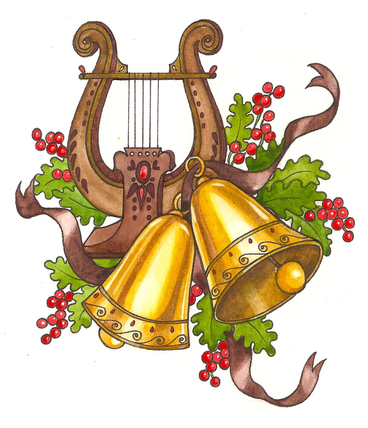 Christmas music clipart violin image free download 48+ Christmas Music Clipart | ClipartLook image free download