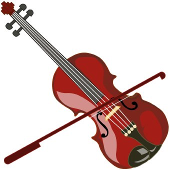 Christmas music clipart violin banner royalty free Violin clip art images free clipart 4 - WikiClipArt banner royalty free