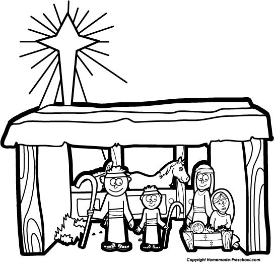 Nativity clipart black and white svg free download Free Nativity Black Cliparts, Download Free Clip Art, Free Clip Art ... svg free download
