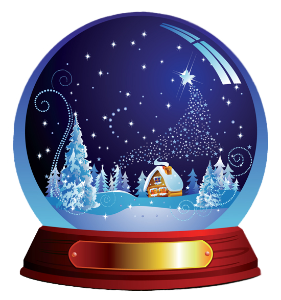 Christmas night clipart image freeuse download 28+ Collection of Snow Globe Clipart | High quality, free cliparts ... image freeuse download