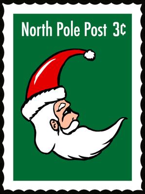 North pole santa clipart vector transparent stock CHRISTMAS NORTH POLE SANTA STAMP CLIP ART | CLIP ART - CHRISTMAS 1 ... vector transparent stock