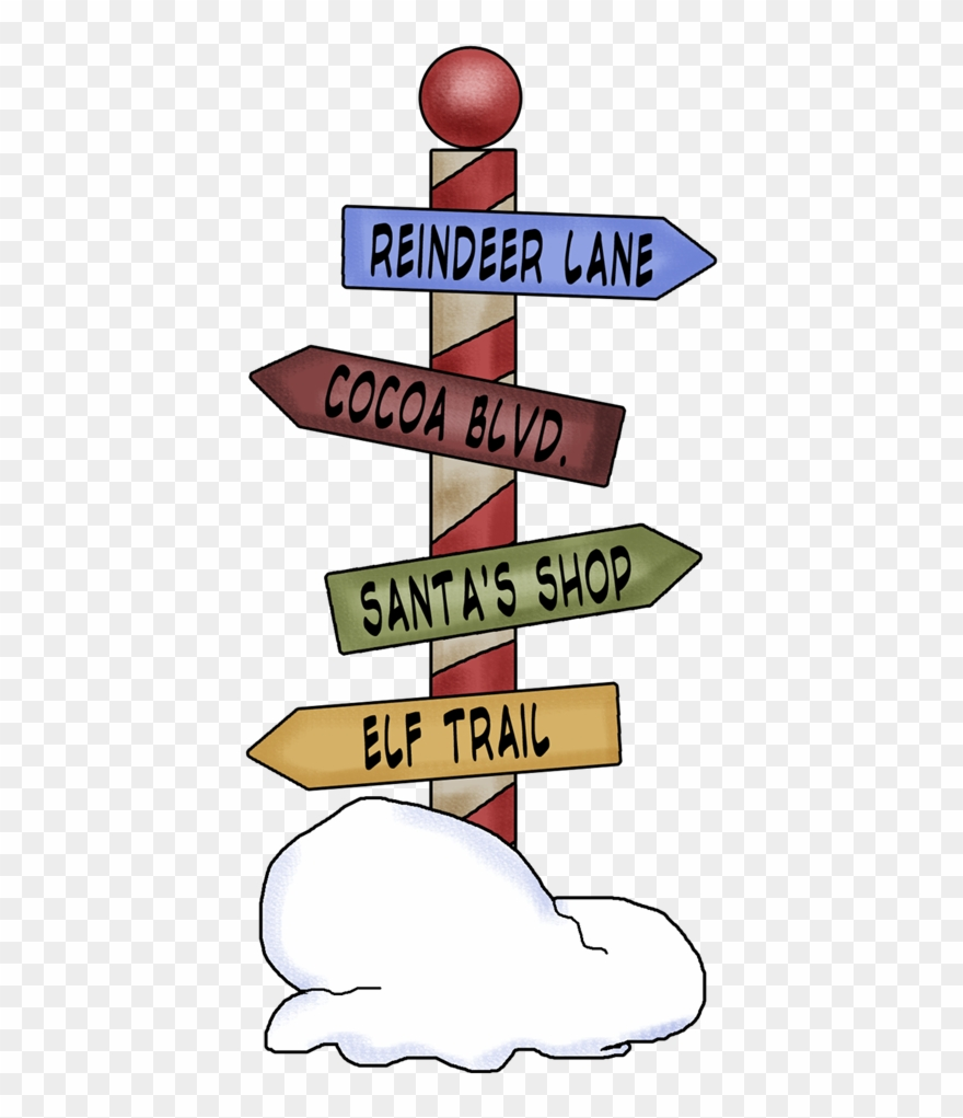 Christmas north pole clipart clipart Christmas Sign Png 50 Amazing Christmas Png Sharing - North Pole ... clipart