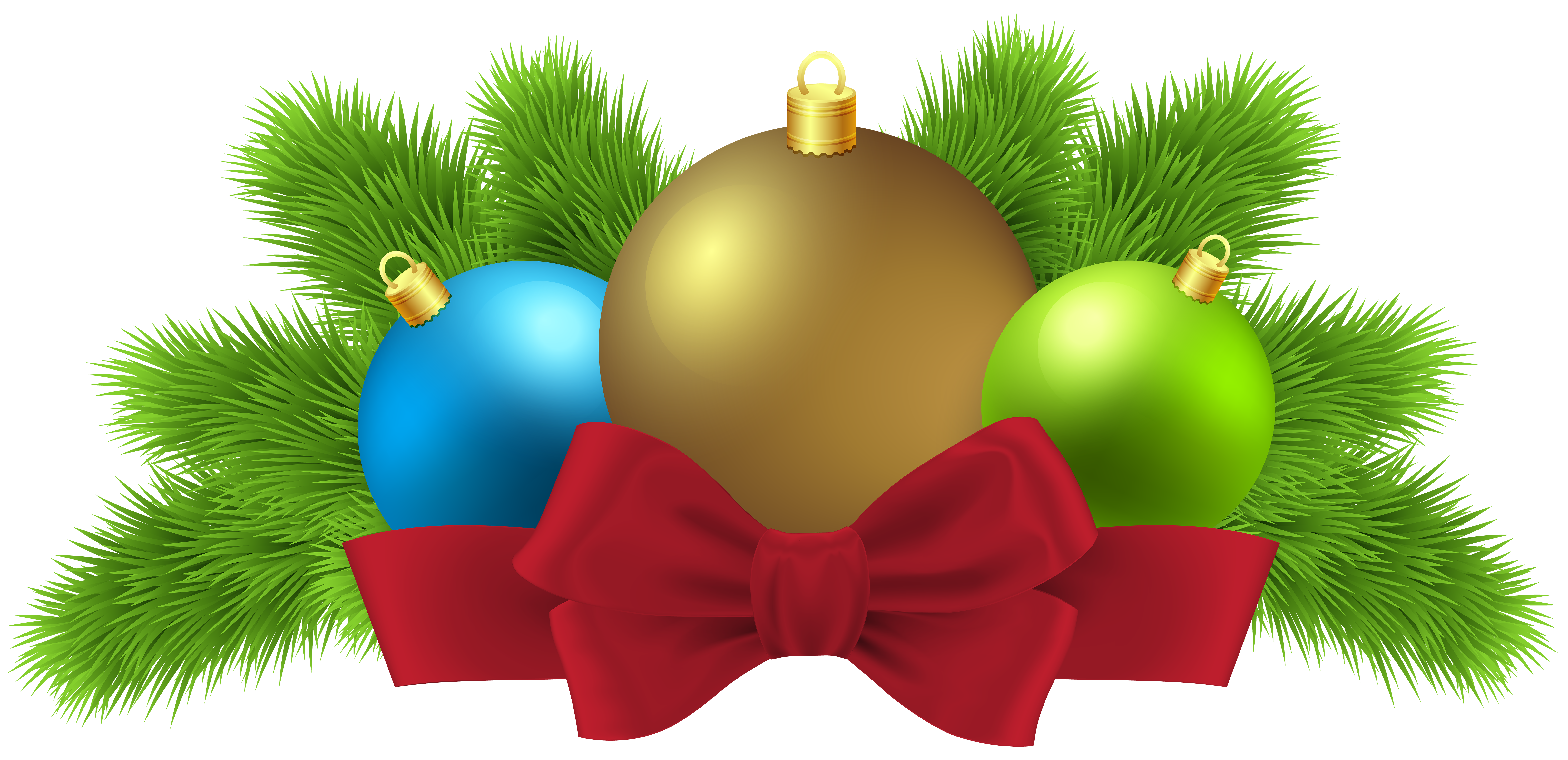Christmas numbers clipart picture library stock Christmas Balls Deco PNG Clip Art Image | Gallery Yopriceville ... picture library stock