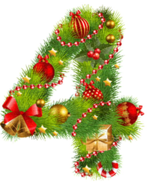 Christmas numbers clipart clip library Pin by cristina on craciun | Pinterest | Noel and Album clip library