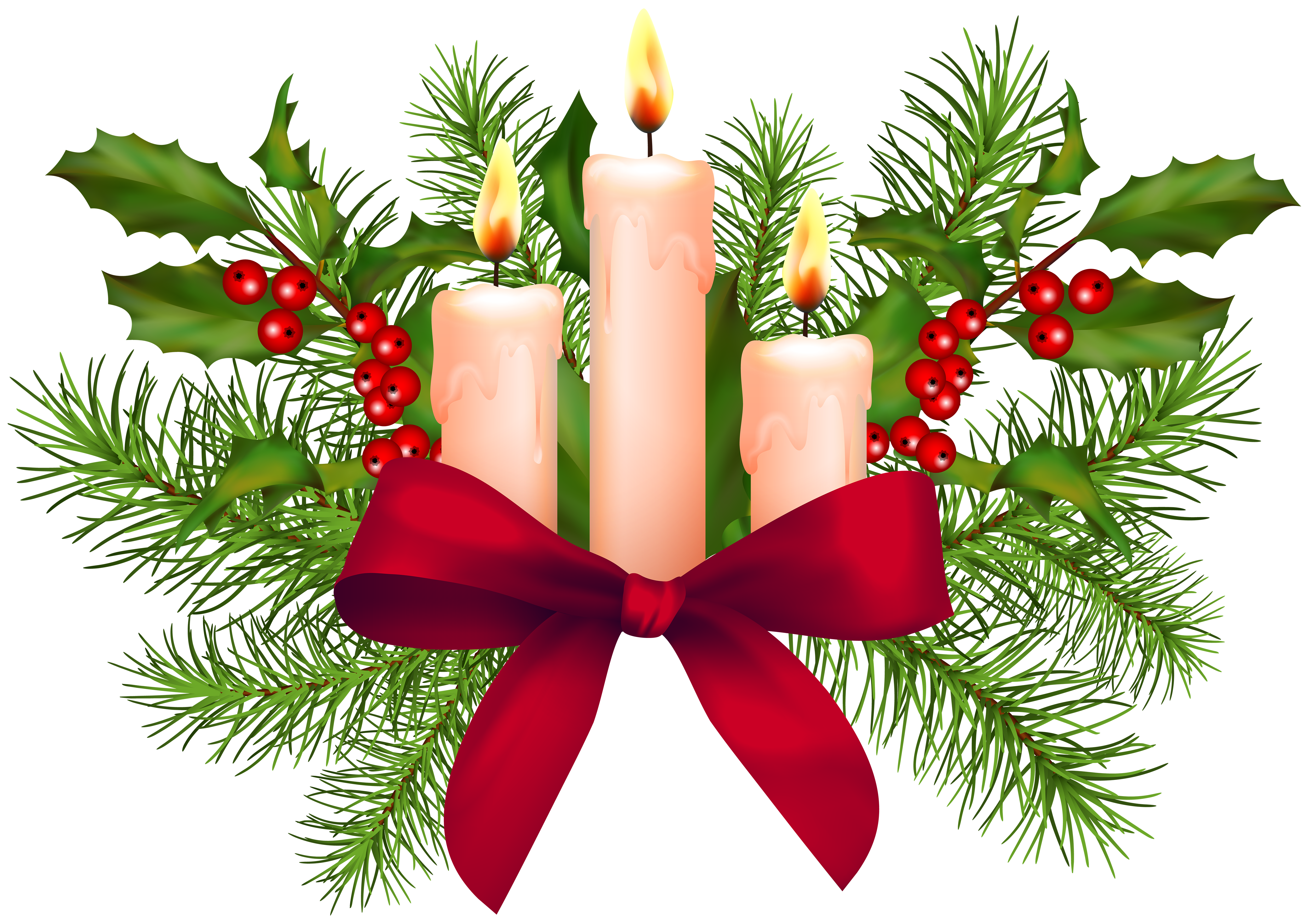 Christmas numbers clipart clip royalty free stock Christmas Candles Transparent PNG Clip Art | Gallery Yopriceville ... clip royalty free stock