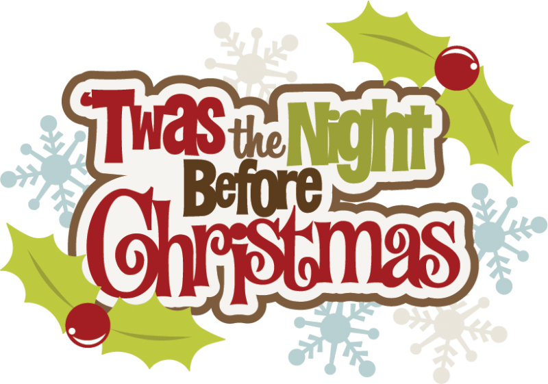 Christmas open house clipart banner Twas the Night Before Christmas | Information Security Buzz banner