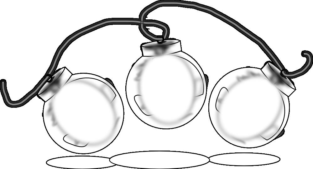Christmas ornament black and white clipart banner free clipartist.net » Clip Art » ornaments black white line art christmas ... banner free