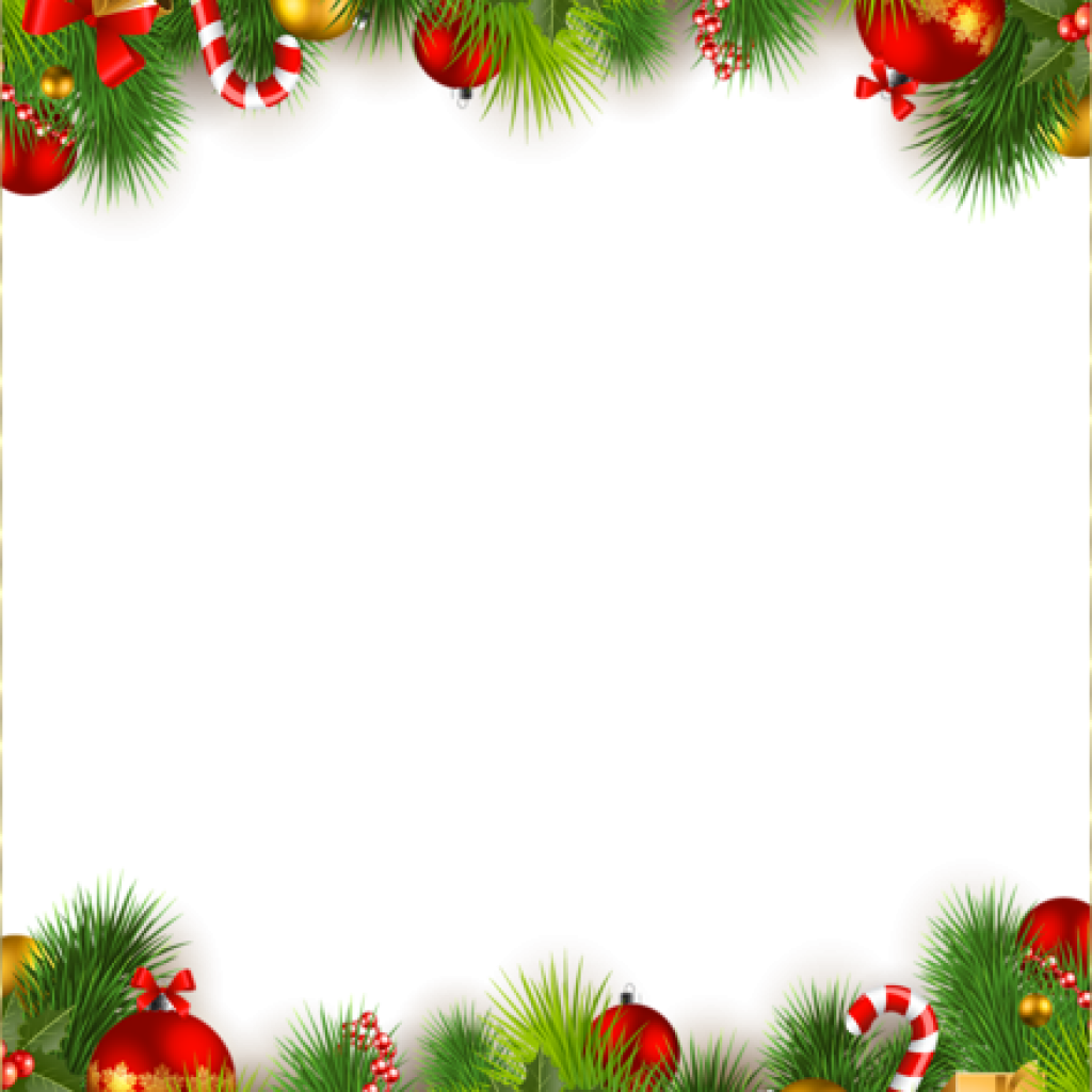 Christmas ornaments clipart border image freeuse download Christmas Border Png st patricks day clipart hatenylo.com image freeuse download