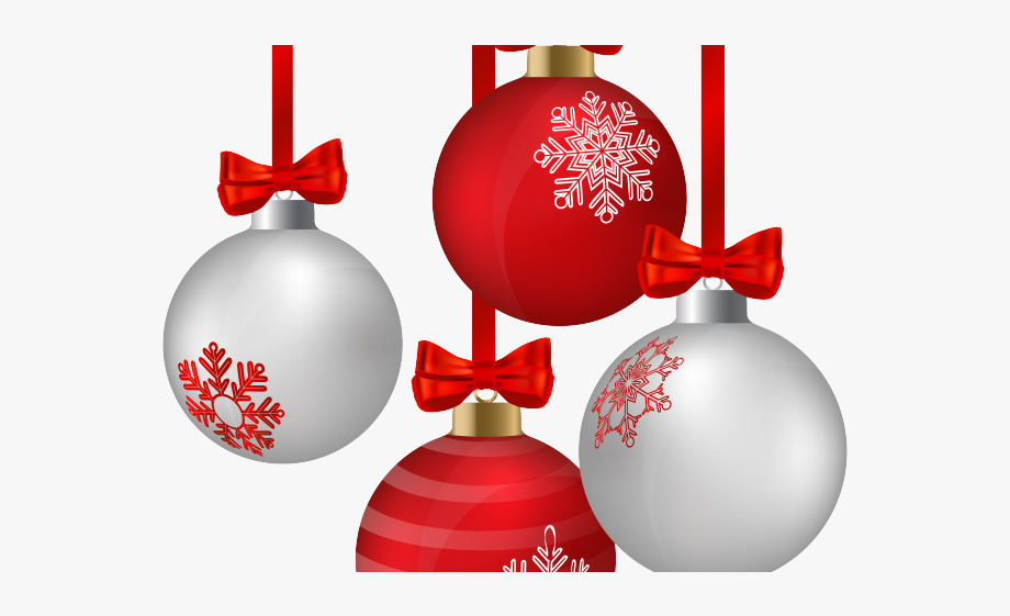 Christmas ornament clipart transparent background svg black and white stock Christmas Ornaments Clipart Transparent Background - Hanging ... svg black and white stock