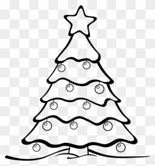 Christmas ornaments clipart black and white svg graphic free download Merry Christmas Tree Svg & Dxf - Merry Christmas Tree Svg Clipart ... graphic free download
