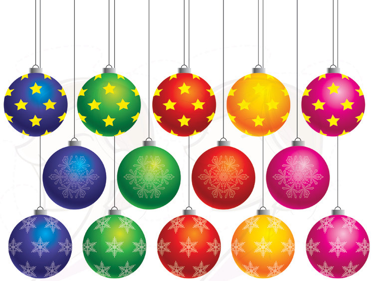 Christmas ornaments clipart free images png black and white library Christmas Ornaments Clipart | Clipart Panda - Free Clipart Images png black and white library
