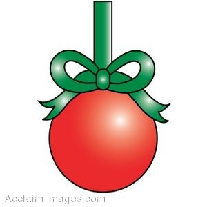 Christmas ornaments clipart jpeg. Clip art of a