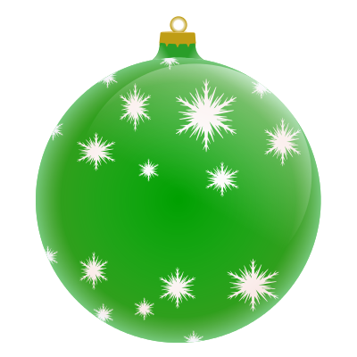 Christmas ornaments clipart jpeg. Clipartfest green