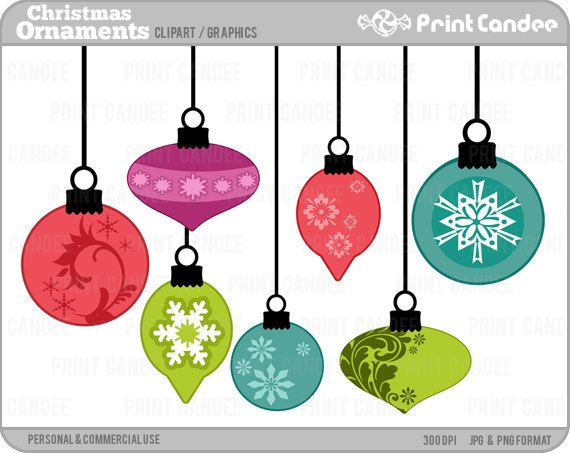 Christmas ornaments clipart printables free png free Top 25 ideas about Fonts, Clipart, Silhouettes! on Pinterest ... png free