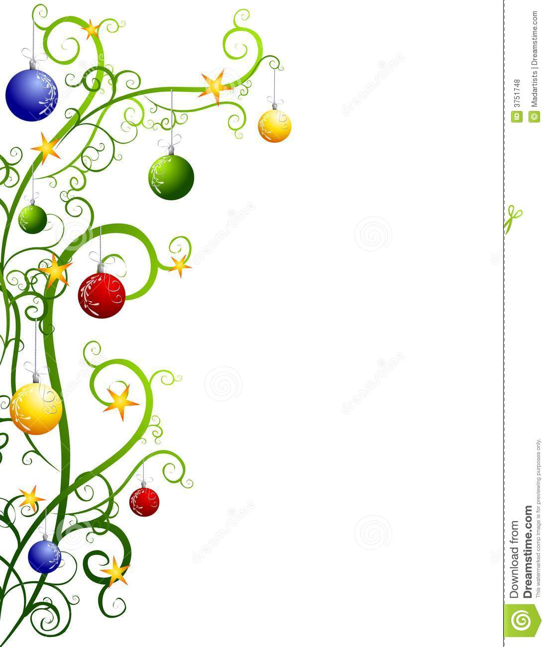 Christmas ornaments clipart printables free png royalty free download Hanging ornaments clipart printable green - ClipartFest png royalty free download