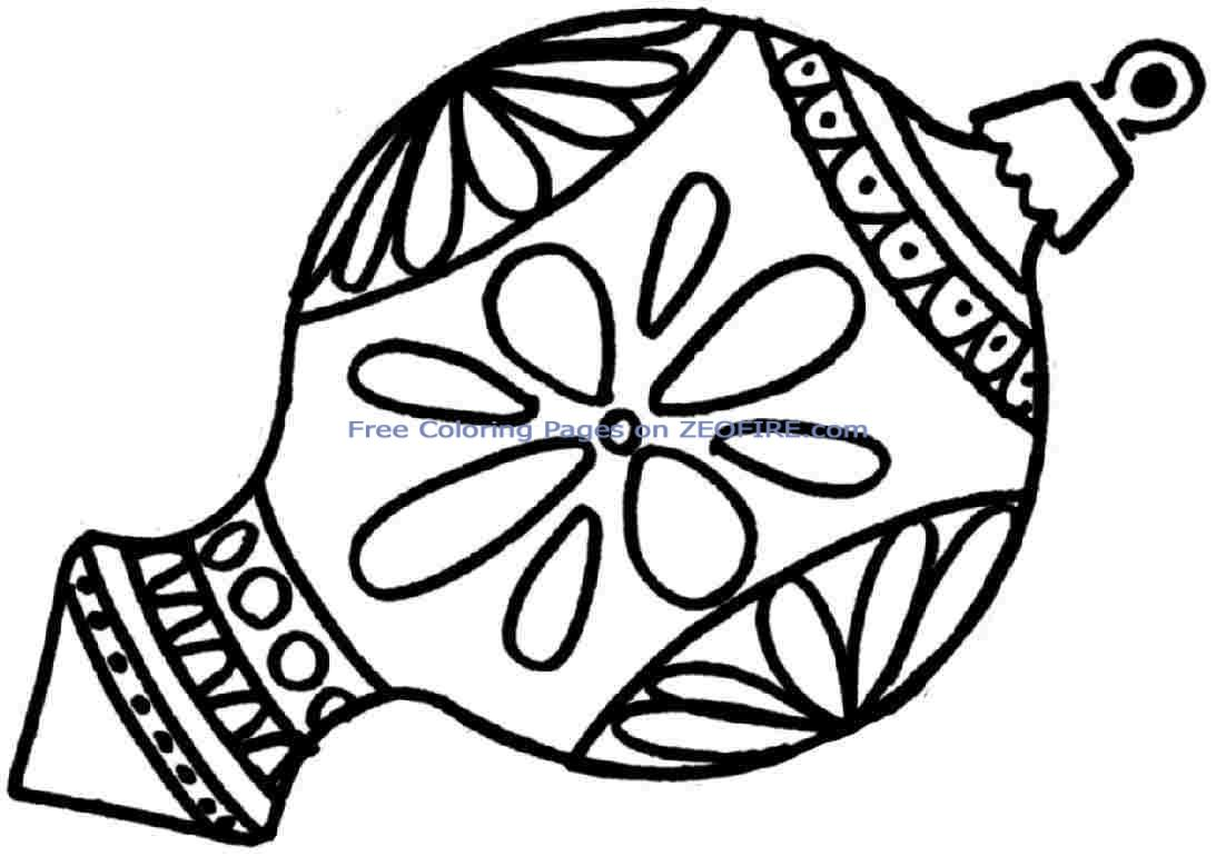 - Free Coloring Pages For Christmas Ornaments لم يسبق له مثيل الصور