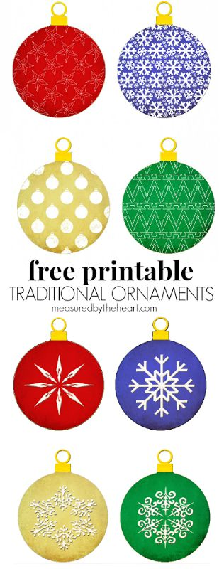 Christmas ornaments clipart printables free graphic library Pinterest • The world's catalog of ideas graphic library