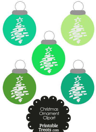 Christmas ornaments clipart printables free clip transparent download 17 Best images about Scrapbook - Christmas Free Printables!! on ... clip transparent download