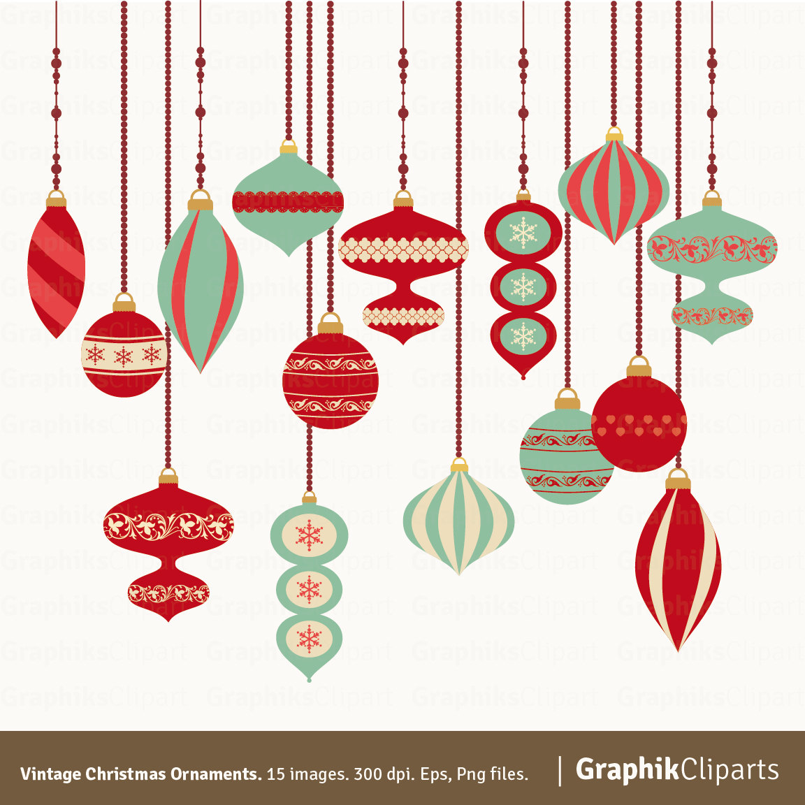 Christmas ornaments clipart printables free png freeuse library Hanging ornaments clipart printable green - ClipartFest png freeuse library