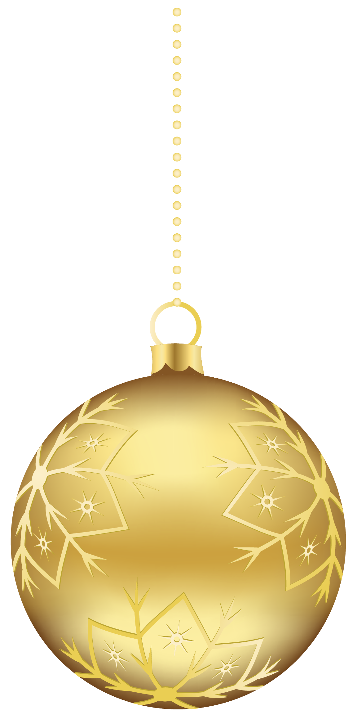 Tree ornament clipart clip art download Gold Christmas Ornaments PNG Clipart #46350 - Free Icons and PNG ... clip art download