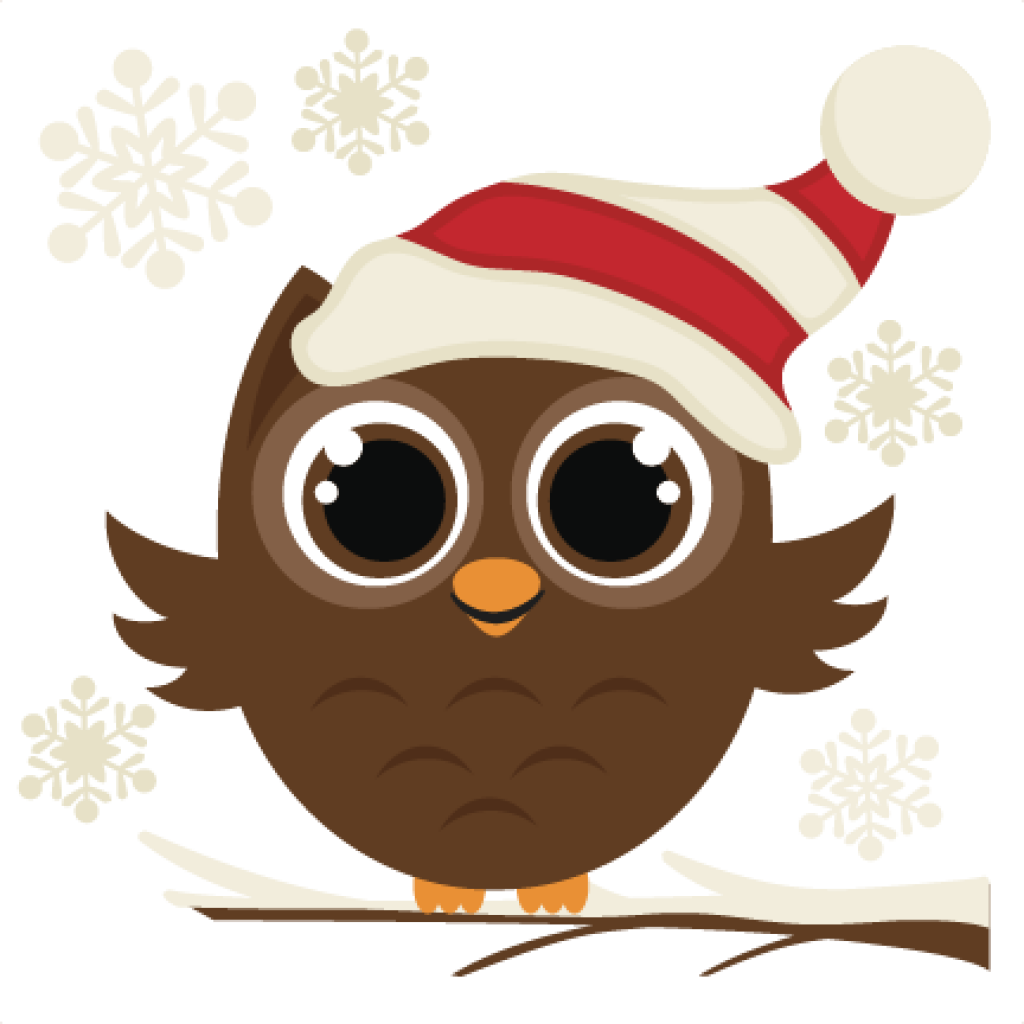 Bee hatenylo com cents. Cute christmas owl clipart